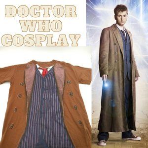 Doctor Who 10th Doctor Cosplay Shirt